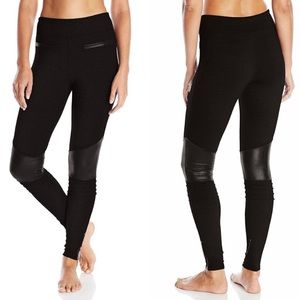 Soybu Troy Zipper Ankle Legging Pants